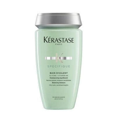 Kérastase Bain Divalent – Комбиниран шампоан за коса с мазни корени и сухи дължини