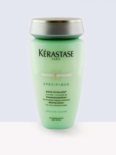 Kérastase Bain Divalent - Комбиниран шампоан за коса с мазни корени и сухи дължини