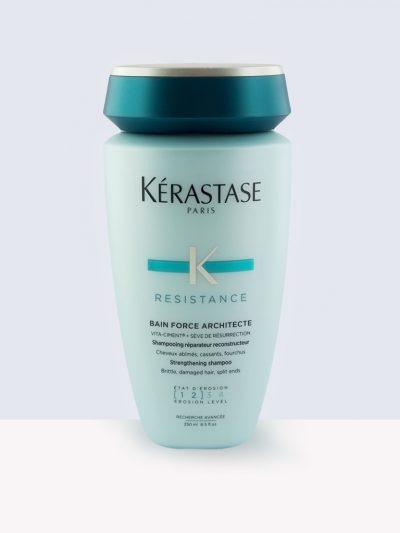 Kérastase Bain Force Architect – Реконструиращ шампоан за суха и крехка коса
