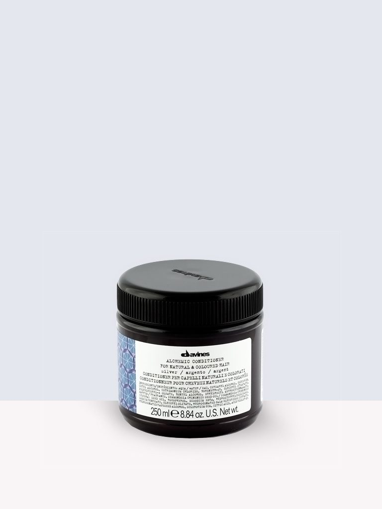 Davines Alchemic conditioner / SILVER – Балсам за сияйно руса коса
