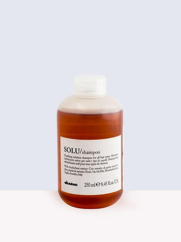 Davines Solu/shampoo- Шампоан за всички видове коса