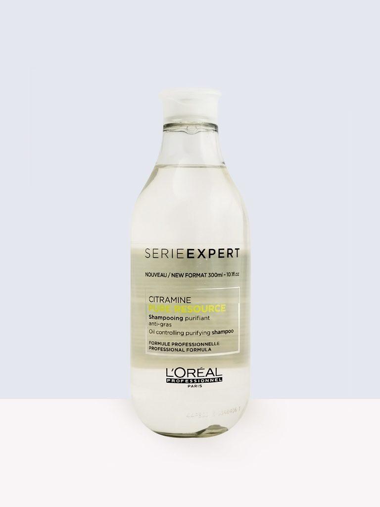 L'oreal Professionnel Serie Expert Citramine Pure Resource - Дълбокопочистващ шампоан срещу омазняване
