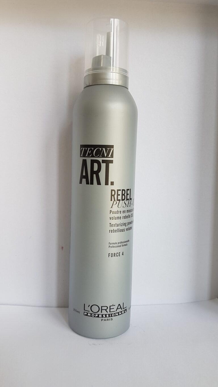 L'Oréal Professionnel Tecni ART Wild Stylers 60s Babe Rebel Push Up – Стилизираща пяна за обем