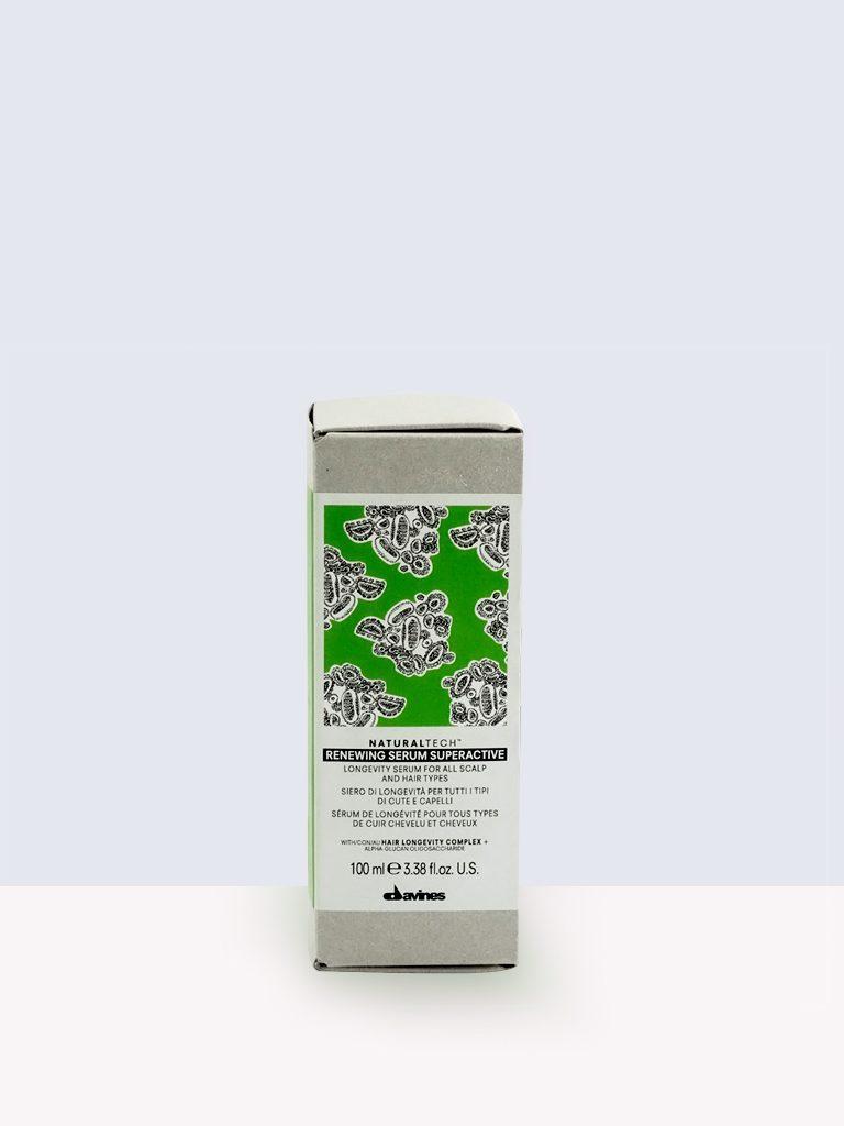 Davines Natural Tech Renewing Serum Superactive- Серум за здрава коса против стареене