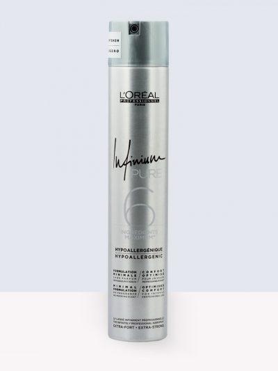 L'Oréal Professionnel Infinium Pure – Хипоалергенен спрей за фиксация