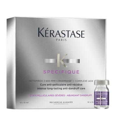 Kérastase Cure Anti-Pelliculaire Anti-Récidive 12x6ml.- Ампули против пърхот