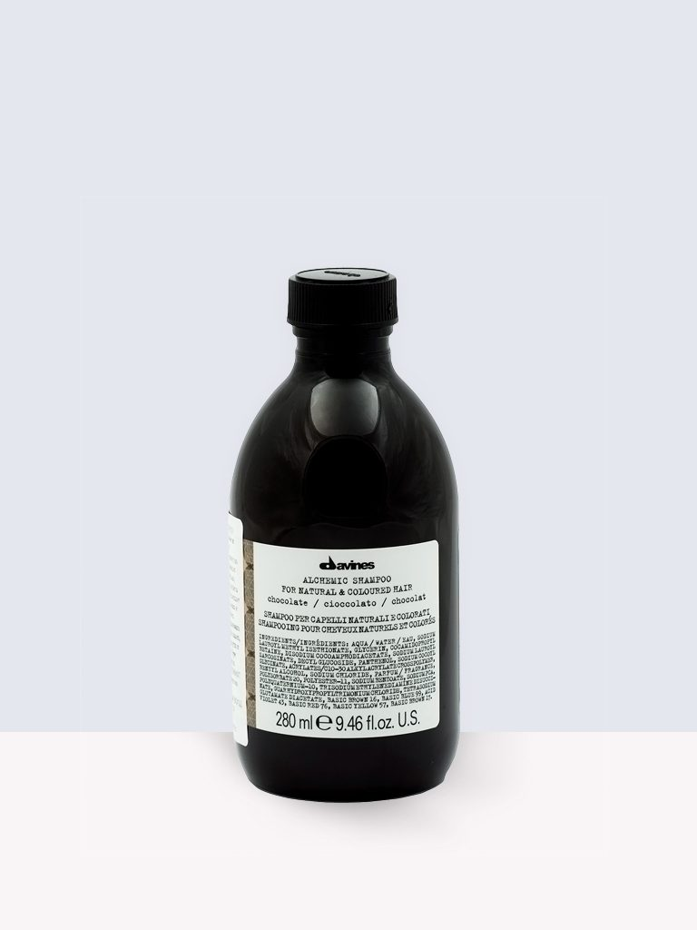Davines Alchemic Shampoo Chocolate- Шампоан за боядисана коса