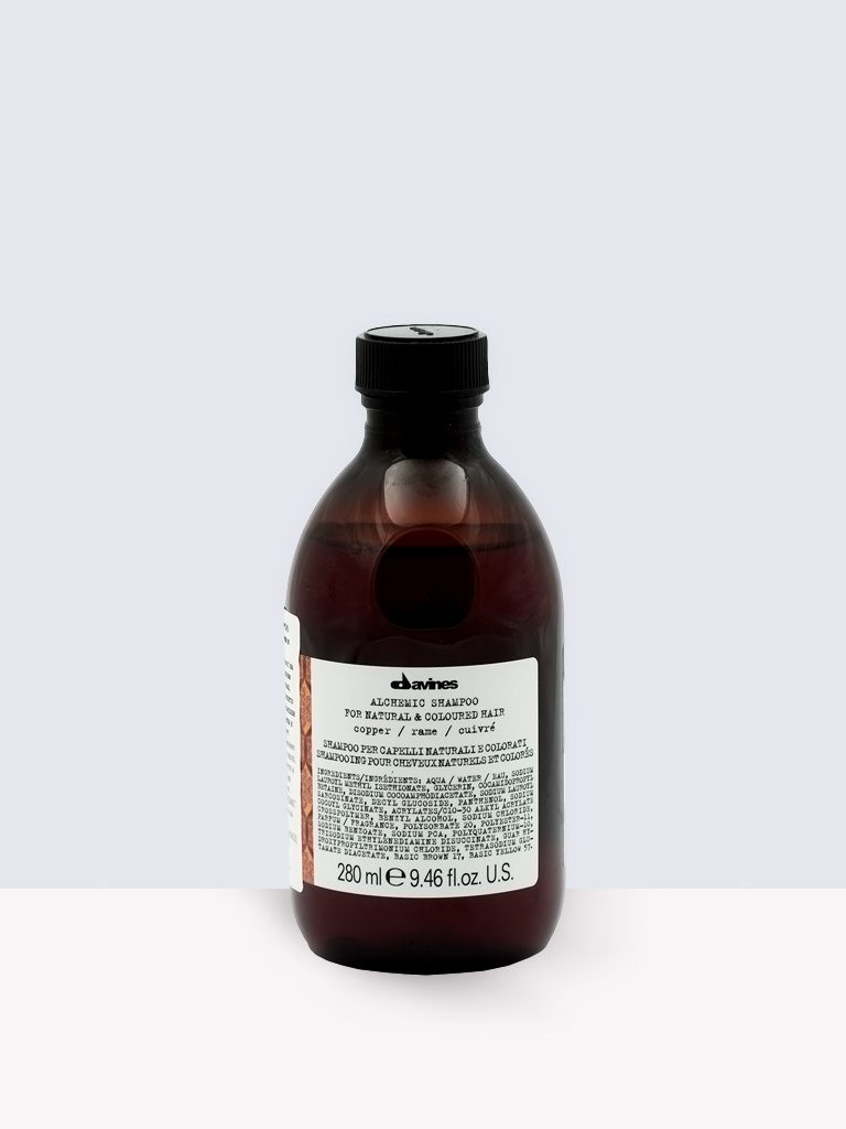 Davines Alchemic Shampoo Copper- Шампоан за боядисана коса