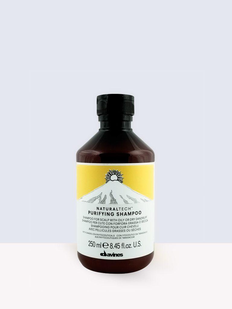 Davines Purifying Shampoо - Почистващ шампоан против пърхот
