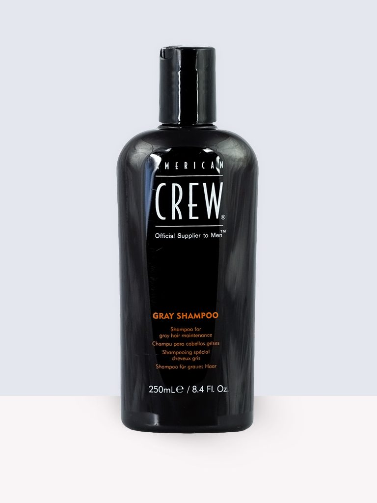 American Crew Gray Shampoo- Шампоан за мъже с посивяла коса