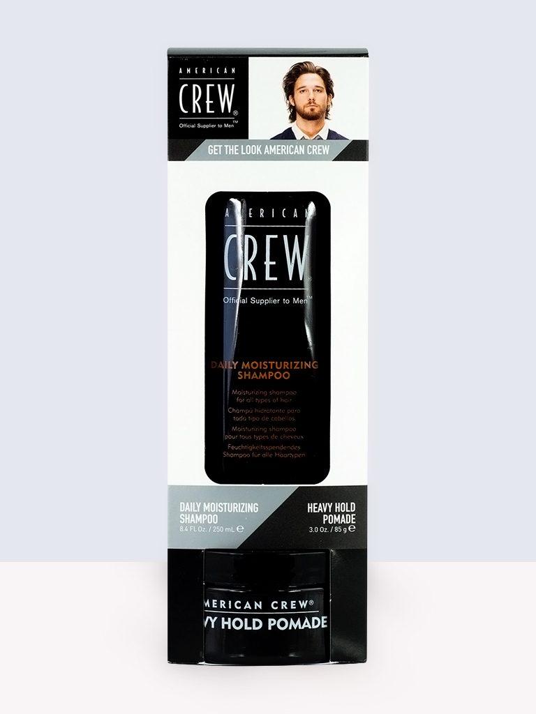 American Crew Daily Moisturizing Shampoo- ежедневен хидратиращ шампоан за мъже