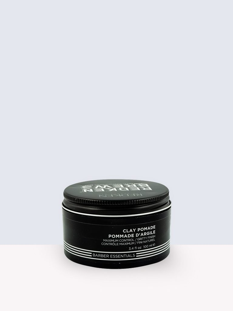 Redken Brews Barber Essential Clay Pomade- Оформяща кремообразна глина за мъже