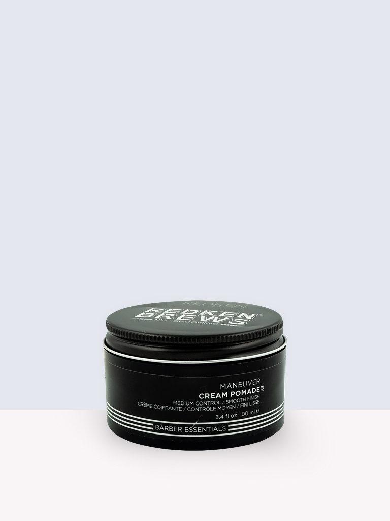 Redken Brews Barber Essential Cream Pomade- Крем за коса за мъже