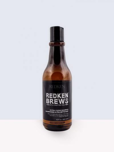 Redken Brews Barber Essential Extra Clean Shampoo- Шампоан за мазна коса за мъже