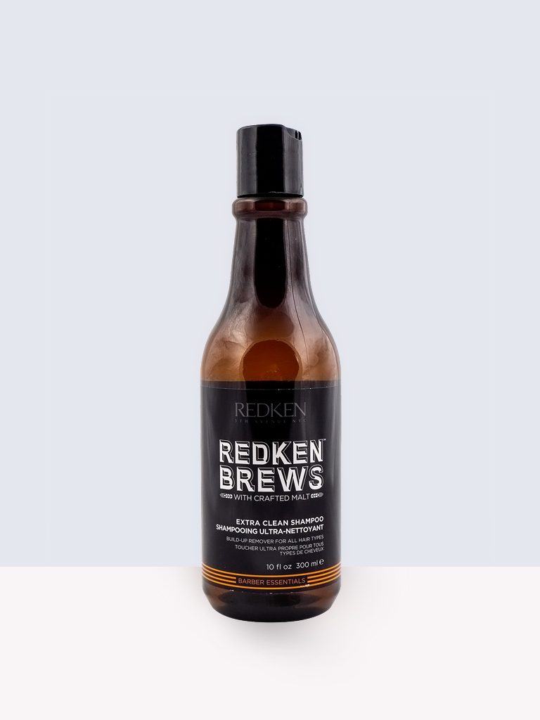 Redken Brews Barber Essential Extra Clean Shampoo- Шампоан за мазна коса за мъже