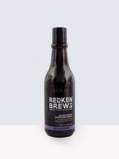 Redken Brews Barber Essential Silver Shampoo- Сребърен шампоан
