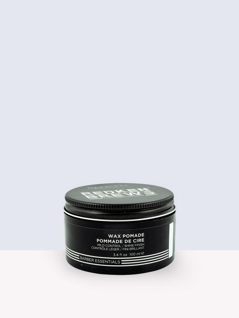 Redken Brews Barber Essential Wax Pomade- Вакса за мъже