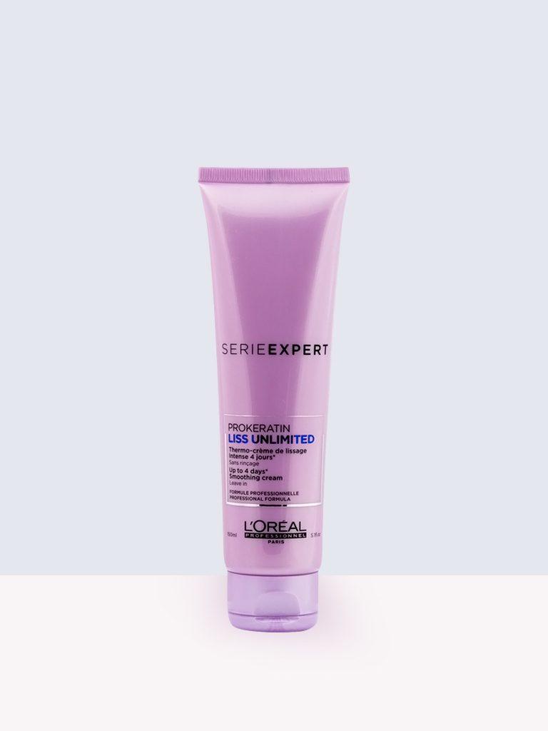 L'oreal Professionnel Serie Expert prokeratin-liss unlimited- Изглаждащ крем с термозащита