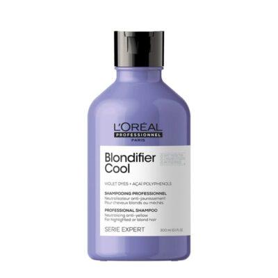 Шампоан за неутрализиране на жълти оттенъци при руса коса Loreal Professionnel Blondifier Cool Shampoo 300ml