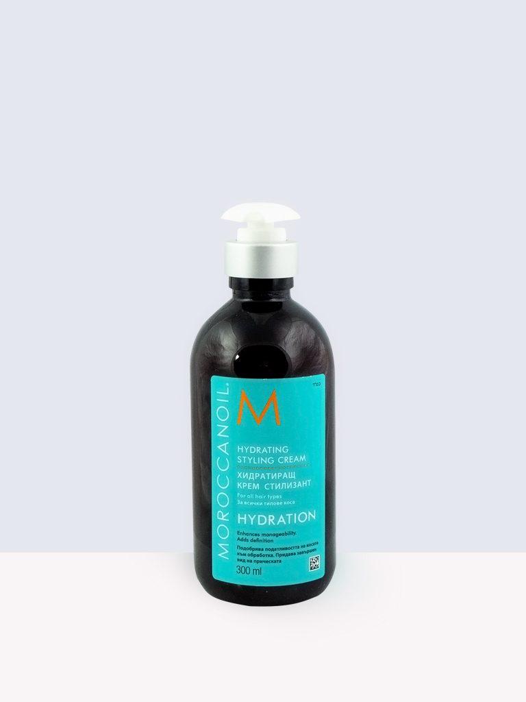 Moroccanoil Hydrating Styling Cream- Хидратиращ стилизиращ крем за всеки тип коса