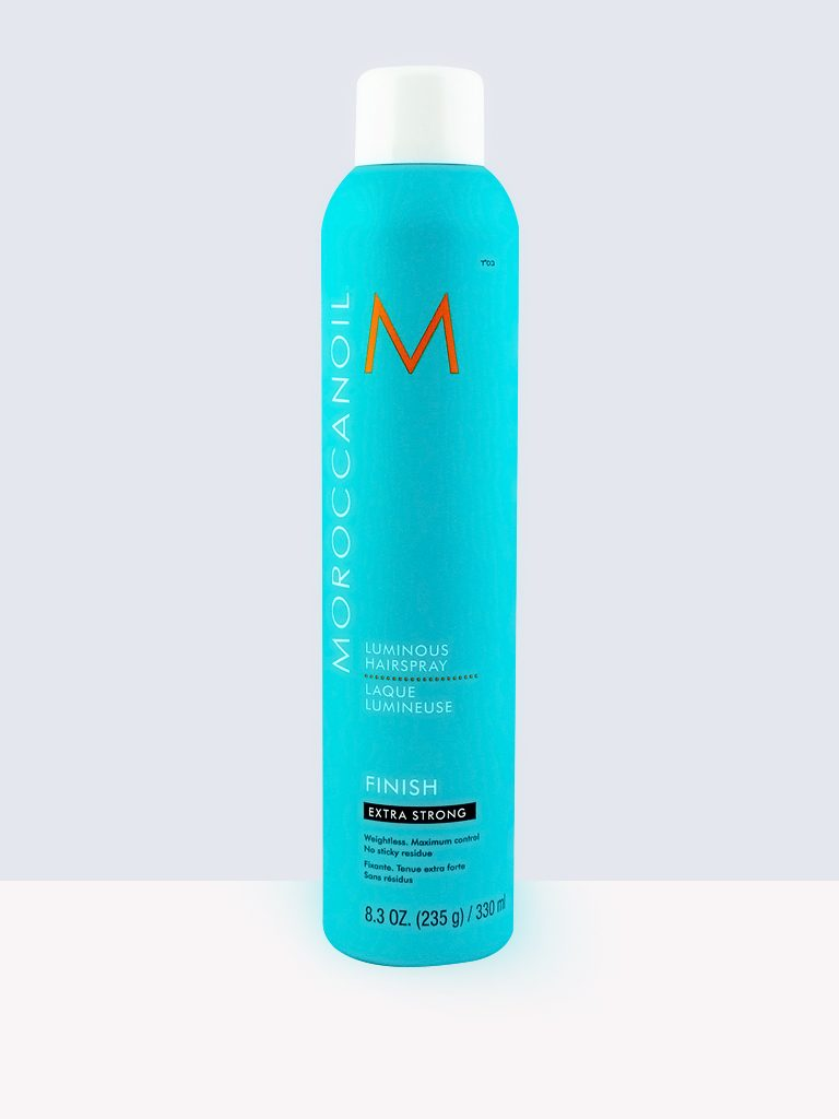 Moroccanoil Luminous Hairspray Finish Extra Strong- Лак за коса