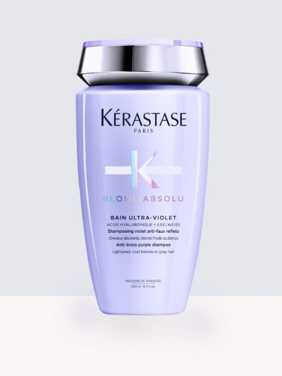 Kerastase Blond Absolu Bain Ultra-Violet 250ml/1000ml – Неутрализиращ жълти оттенъци шампоан