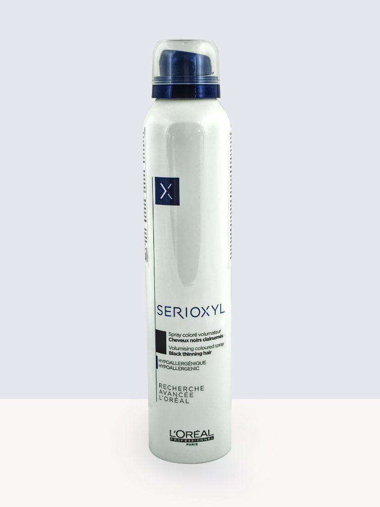 Loreal Professionnel Serioxyl Volumizing Coloured Spray 200ml.- Oцветяващ спрей за изтъняла коса