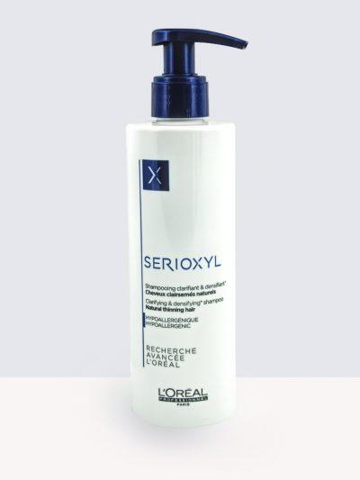 Loreal SERIOXYL Shampoo Natural Hair250ml. - Шампоан за тънка коса