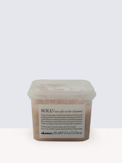 Davines SOLU Sea Salt Scrub Cleanser-Ексфолираща грижа за коса
