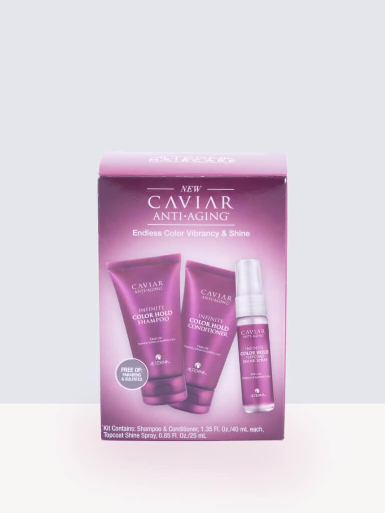 Комплект за пътуване за боядисана коса Alterna Caviar Anti-Aging Infinite Color Hold Travel Set