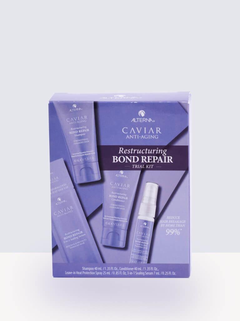 Комплект за пътуване за увредена коса Alterna Caviar Bond Repair Travel Set