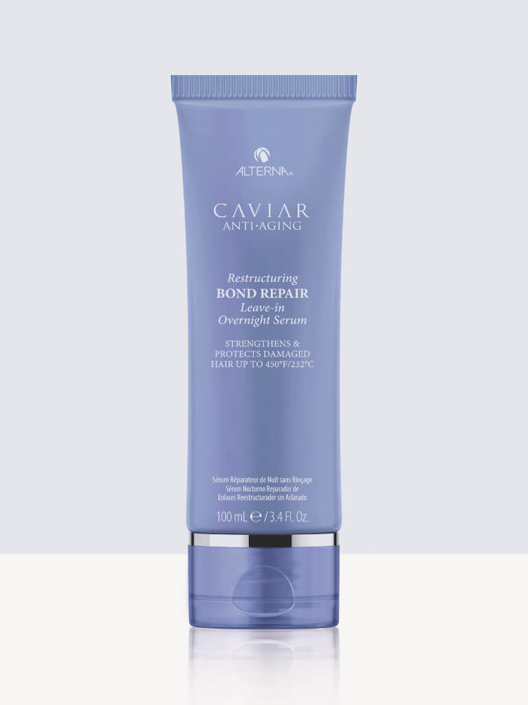 Нощна терапия за увредена коса 100мл.  Alterna Caviar Bond Repair Leave-in Overnight Serum