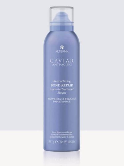 Термо – пяна с уплътняващ ефект за увредена коса Alterna Caviar Bond Repair Mousse