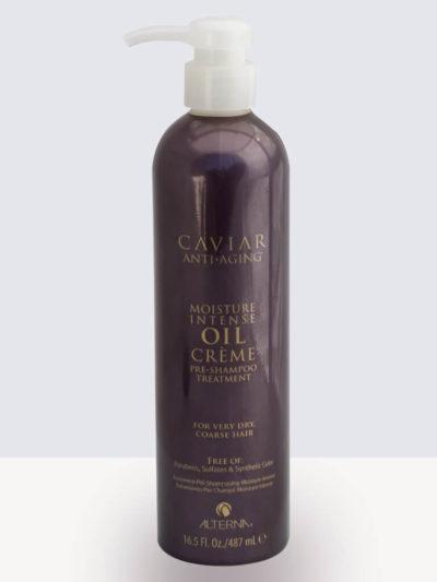 Хидратираща терапия за коса преди измиване 487мл  Alterna Caviar Moisture Intense Oil Crème Pre-Shampoo Treatment