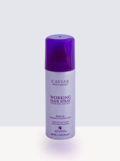 Лак за гъвкава естествена визия 50мл. Alterna Caviar Anti-Aging Professional Styling Working Hairspray