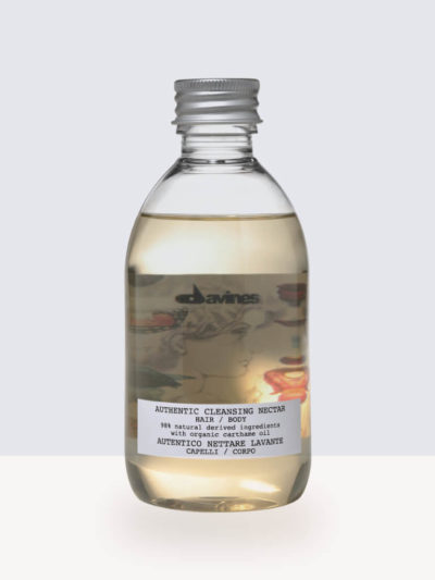 Аuthentic Cleansing Nectar Davines 280ml. - Хидратиращ и Почистващ нектар за коса и тяло