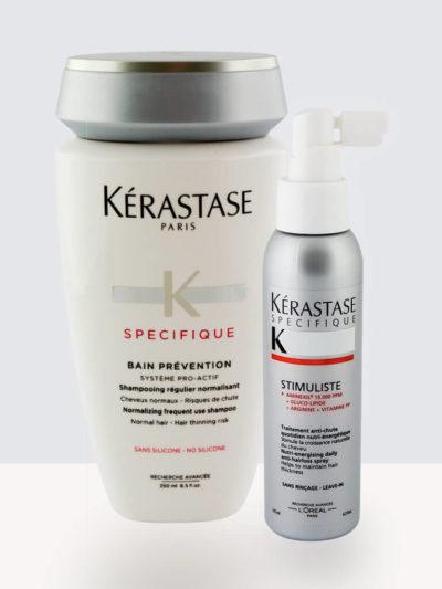 Комплект Kérastase Bain Prevention – Шампоан против косопад + Kérastase Specifique Stimuliste Спрей против косопад