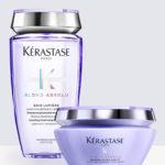 Комплект Шампоан и Маска Kerastase Blond Absolu Bain Lumiere + Kerastase Blond Absolu Masque Ultra-Violet