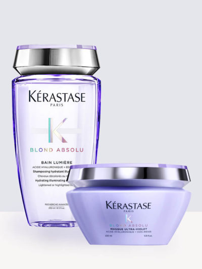 Комплект Шампоан и Маска Kerastase Blond Absolu Bain Lumiere + Kerastase Blond Absolu Masque Ultra-Violet