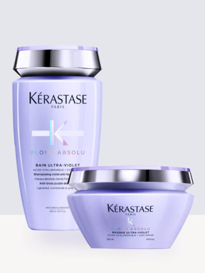 Комплект Шампоан и Маска Kerastase Blond Absolu Bain Ultra-Violet + Kerastase Blond Absolu Masque Ultra-Violet