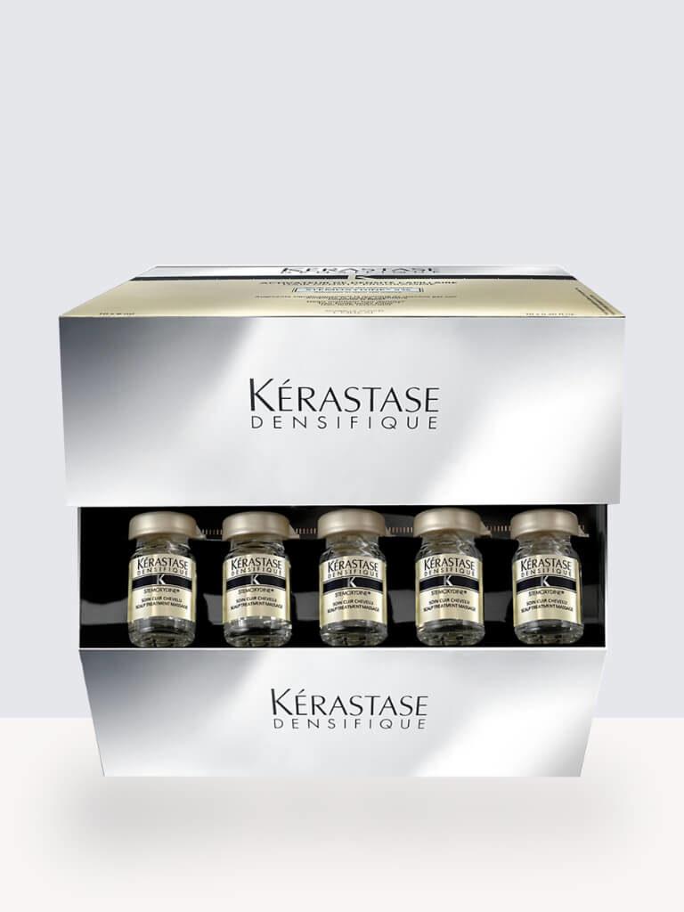 Комплект Kérastase Bain Densifique шампоан за сгъстяване на коса + Kérastase Densifique 30x6ml- Ампули за сгъстяване на коса