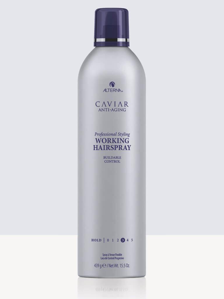 Спрей с лека фиксация за естествен вид Alterna Caviar Anti-Aging Professional Styling Working Hairspray