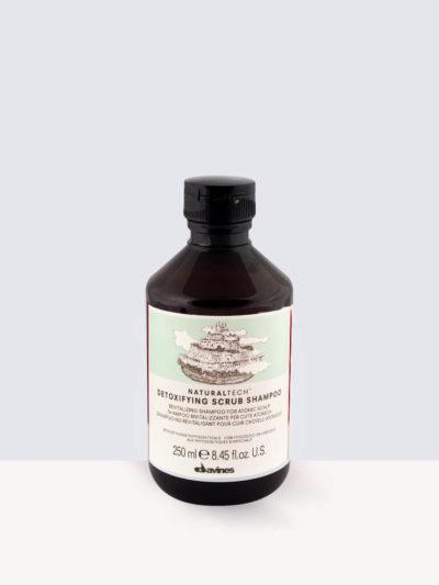 Davines Natural Tech Detoxifying Scrub Shampoo  250ml- Ексфолиращ шампоан
