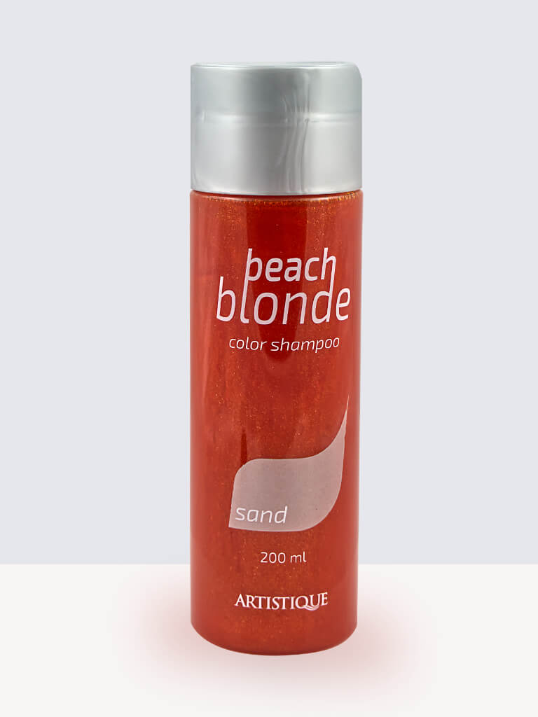 Artistique-Beach-Blonde-Color-Shampoo-Sand. Оцветяващ шампоан за коса.