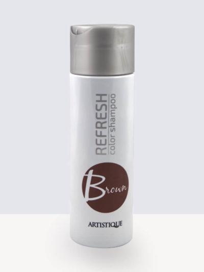 Artistique-Refresh-Color-Shampoo-Brown 200ml. Оцветяващ шампоан за коса.