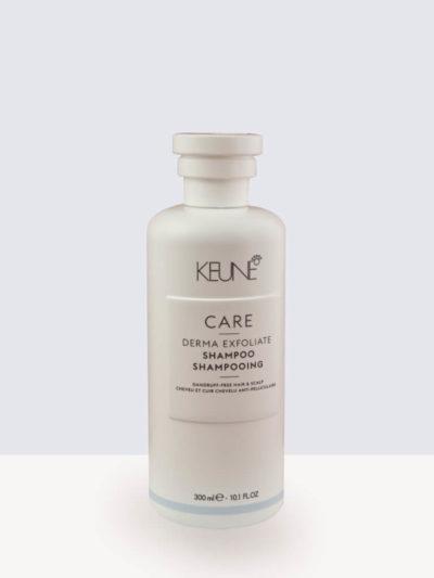 Ексфолиращ и успокояващ шампоан против пърхот 300мл. Keune Care Derma Exfoliate Shampoo