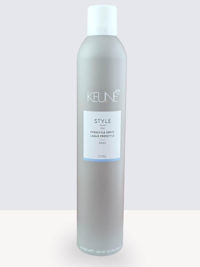 Лак за коса за естествена завършек и силна фиксация Keune Style Fix Freestyle Spray 500ml