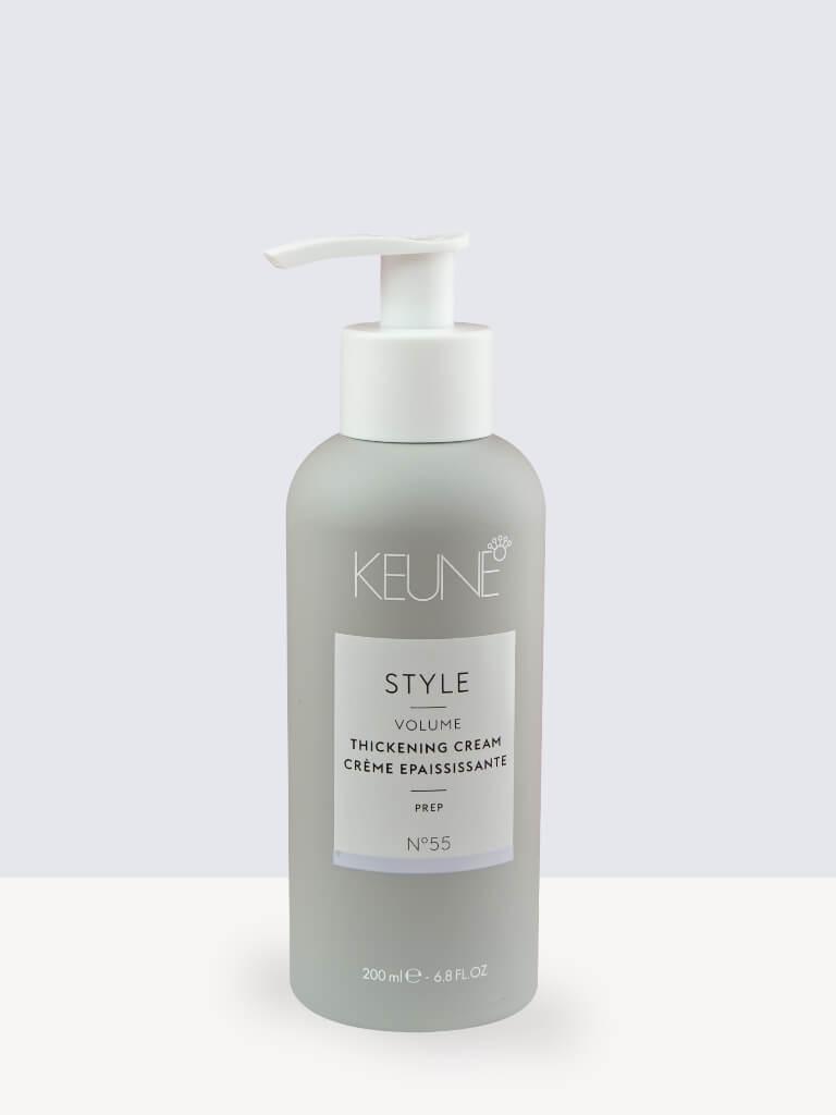 Термозащитен уплътняващ крем за обем Keune Style Volume Tickening Cream 200ml