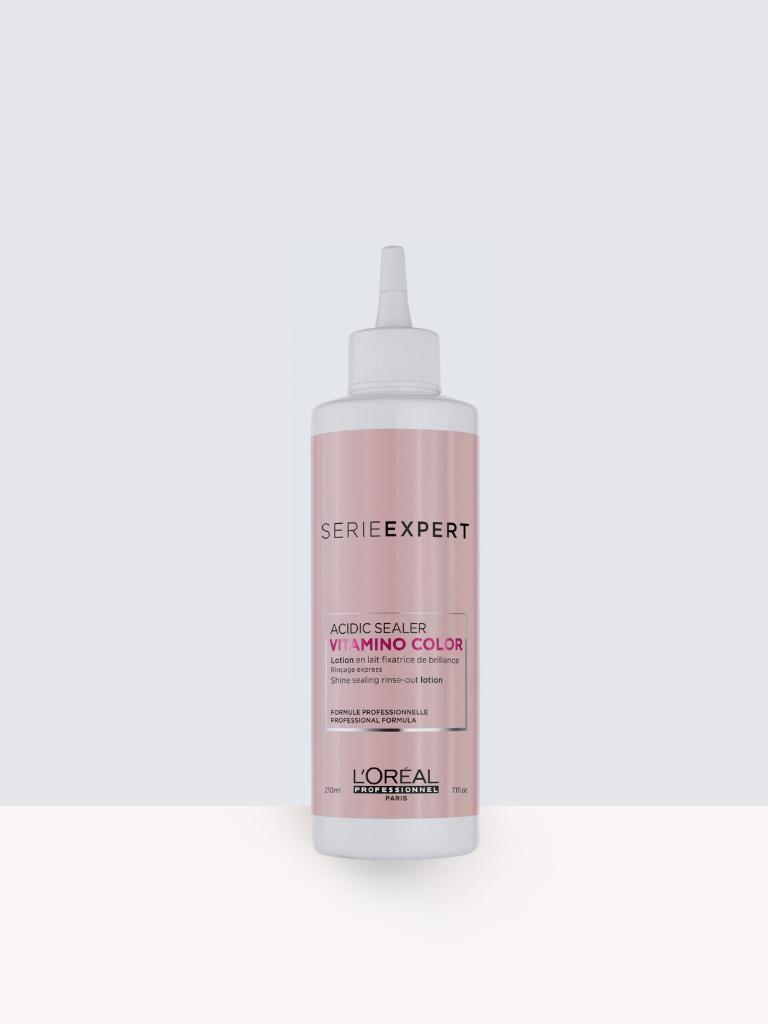 L'oreal Professionnel Serie Expert Vitamino Colour Acidic Sealer 210ml  – Лосион за запечатване на цвета и ламиниране на косата.