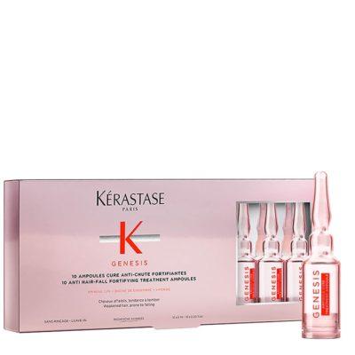 Терапия Керастаз - Ампули подсилваща грижа против косопад 10бр
